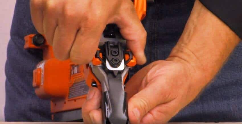 Trigger, Depth of Drive and Mode of nail gun
