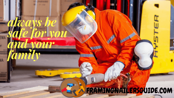 framing nail gun safety