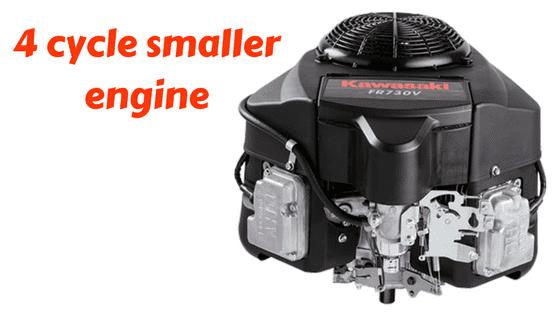 4 cycle smaller zero turn mower engine