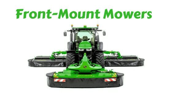 Front Mount Mowers