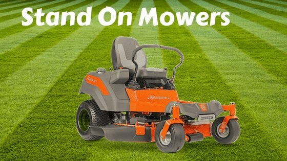 Stand on Mowers