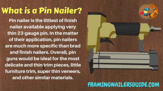 What is a Pin Nailer?