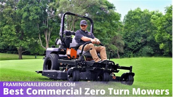 Best Commercial Zero Turn Mowers for The Money