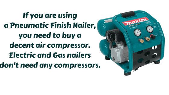 Do all nailers need a compressor?