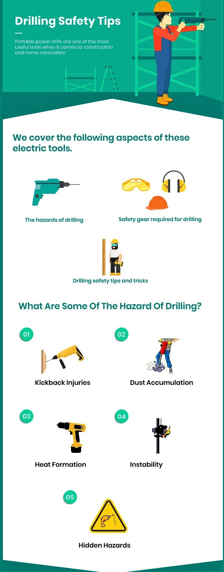 drilling safety tips