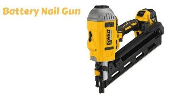 Battery Nail Gun