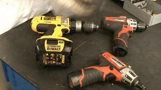 cordless/batery drill