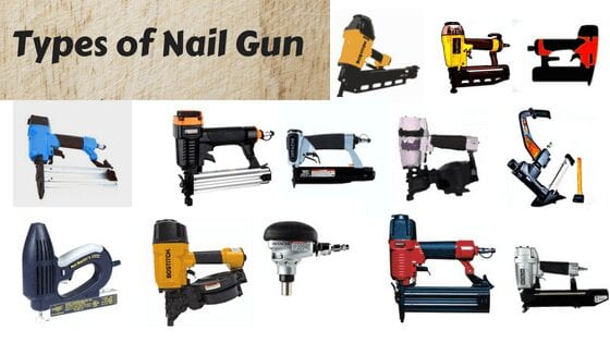 Different Types of Nail Guns with Their Uses