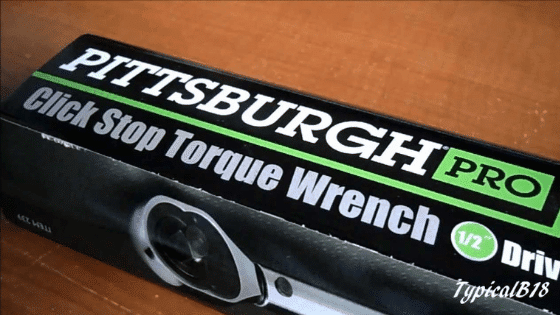 Pittsburgh torque wrench