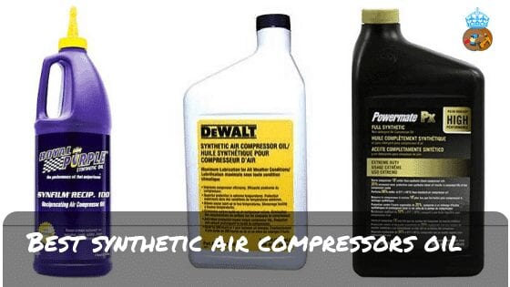 Best Synthetic Air Compressors Oil Reviews