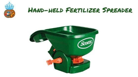 Hand-held Fertilizer Spreader