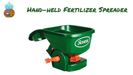 Hand-held Fertilizer Spreader