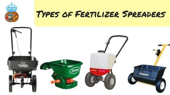 types of fertilizer spreaders