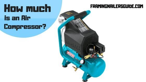 How much is an air compressor