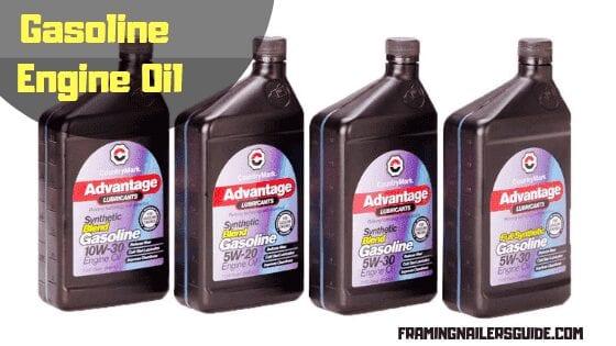 Diesel or gasoline engine oil