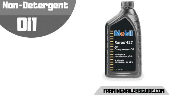 Non-detergent oil