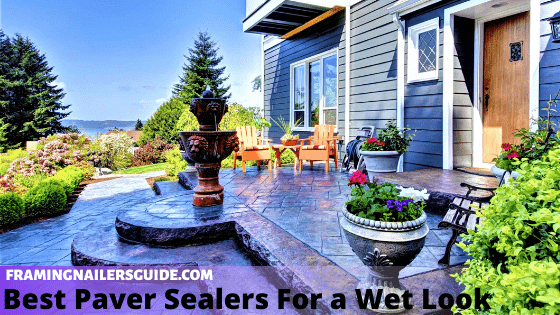 Best Paver Sealers For a Wet Look