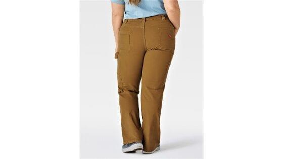Dickies Size Women's Plus Double Front Denim Carpenter Pants