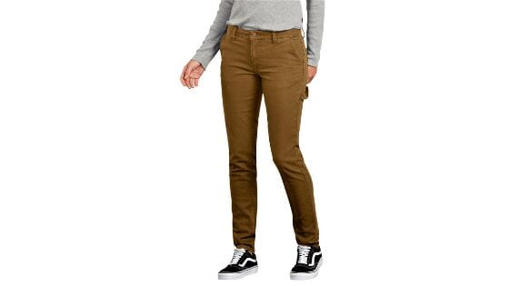 Dickies Women's Stretch Duck Double Front Carpenter Pant