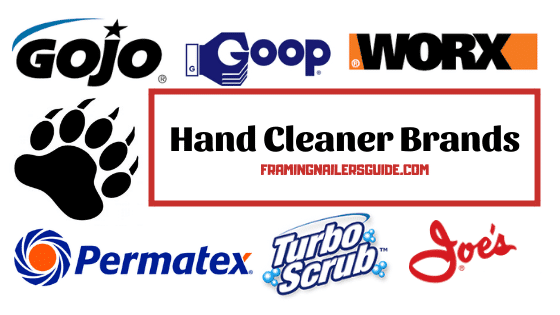 best hand cleaner brands for mechanics, plumbers, and gardeners