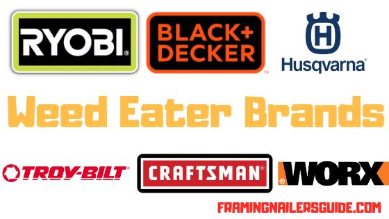 best weed eater brands list