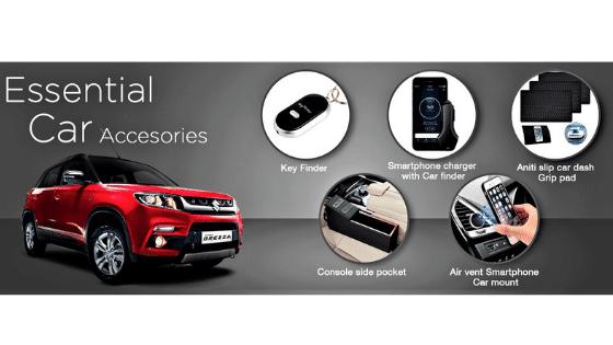 brand new car accessories list