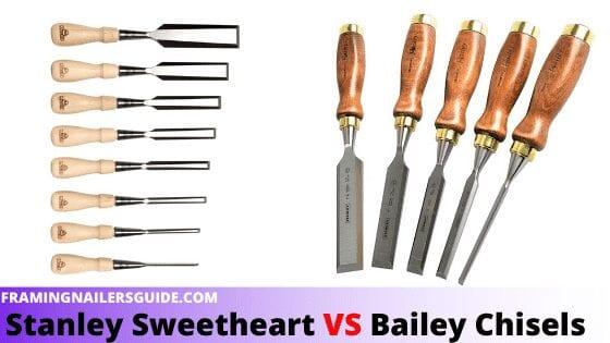 Stanley Bailey Vs. Sweetheart Chisel