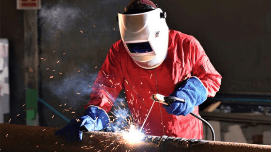What are the hazards associated with welding
