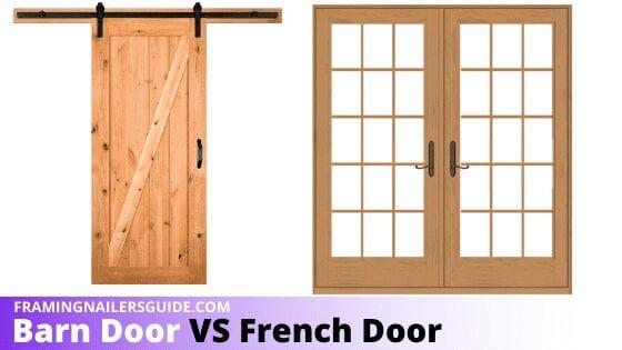 Barn Door Vs French Door