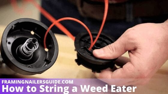 How to String a Weed Eater